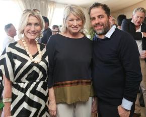 Susan Magrino, Martha Stewart, Brett Ratner