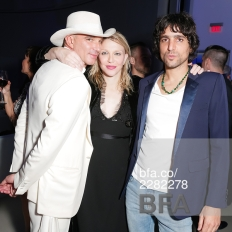 Alan Faena, Courtney Love, Sebastian Faena